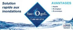 sac-O-gel, sac de polymère super absorbant
